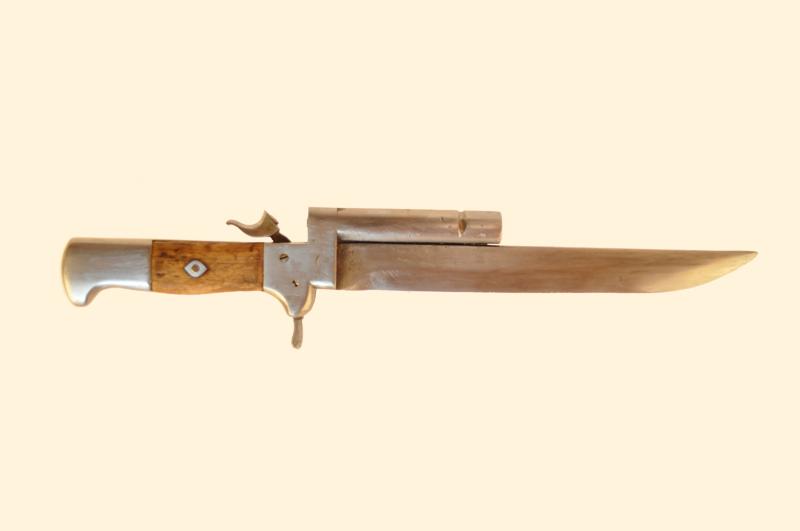 нож-пистолет