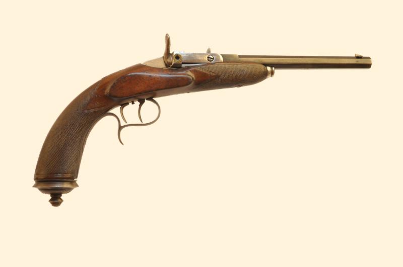 19 век огнестрельное оружие: